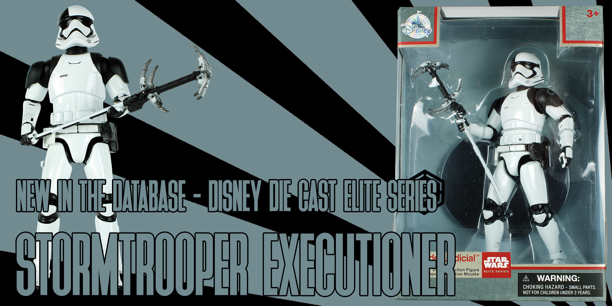 Elite Series Die Cast Stormtrooper Executioner