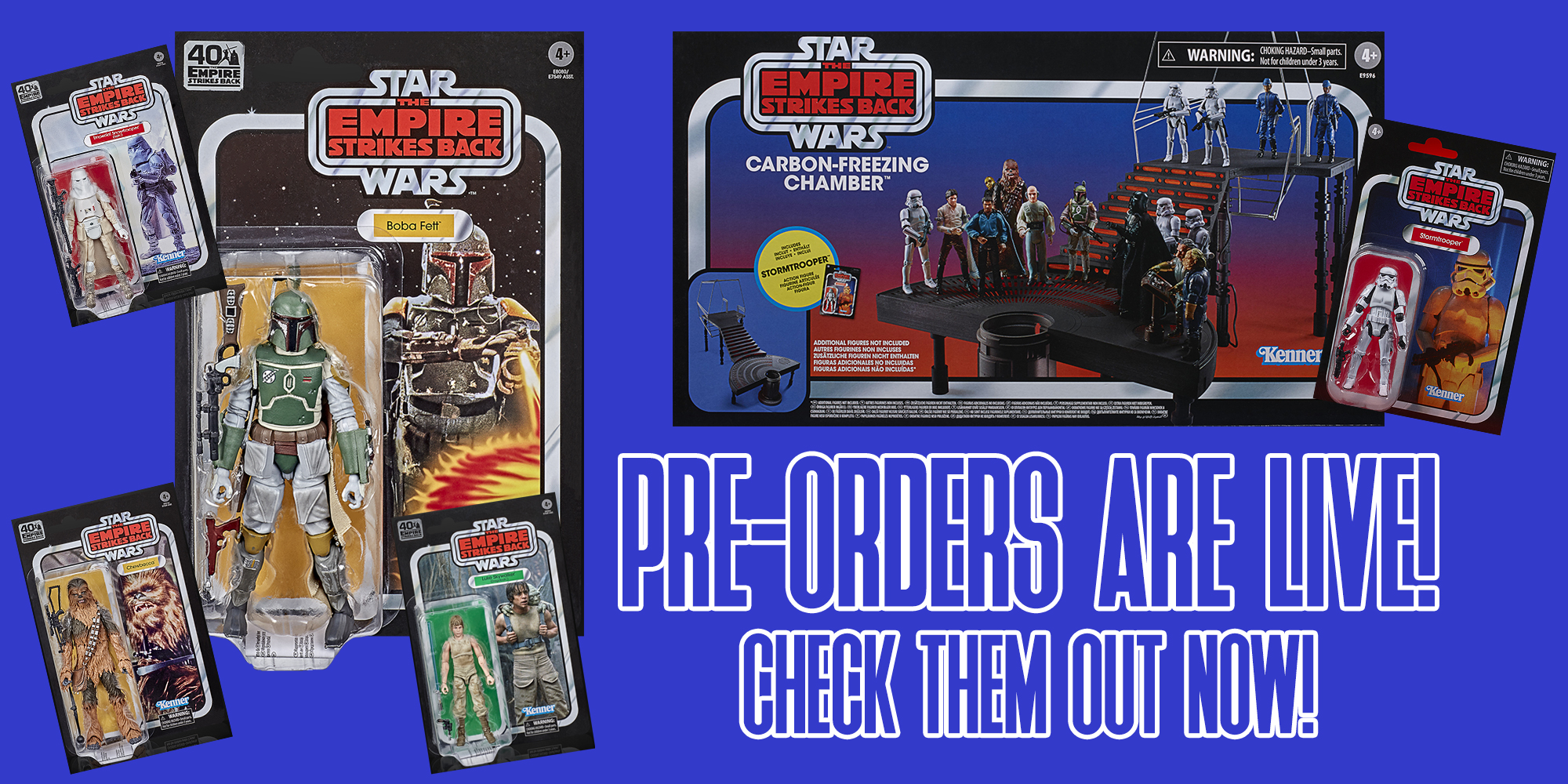 Pre-Order New Star Wars Figures At Entertainment Earth!