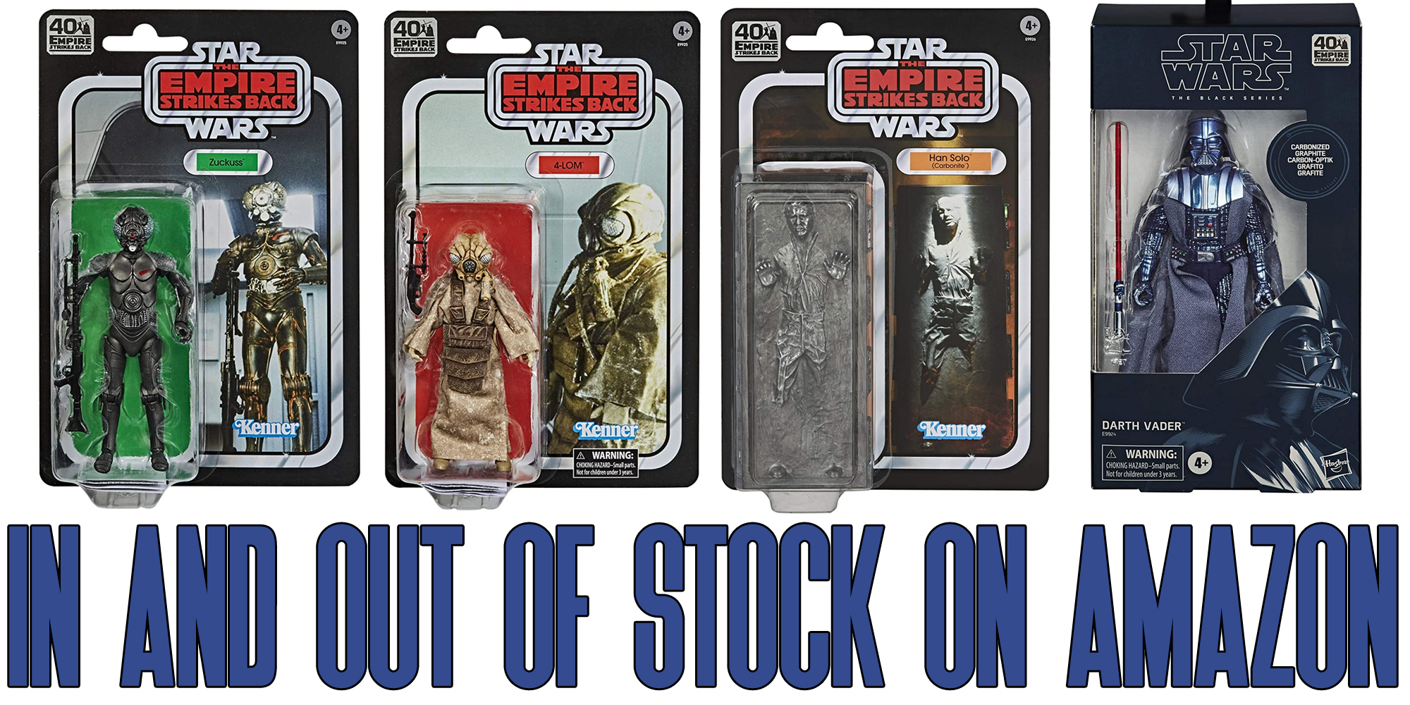 Star Wars Black Series at Amazon