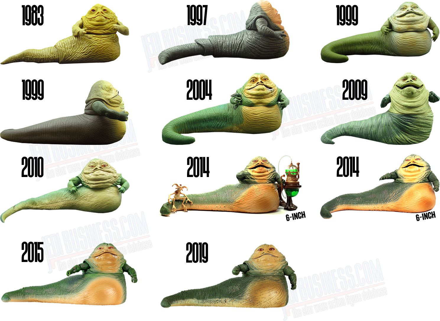 Jabba The Hutt Action Figures