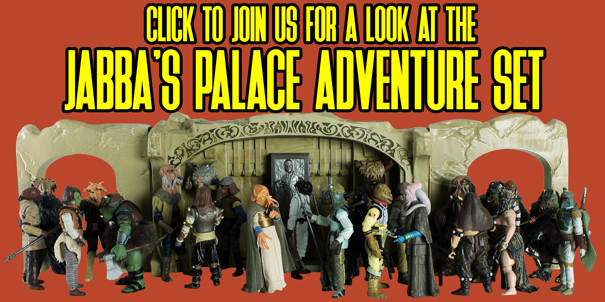 Jabba's Palace Adventure Set