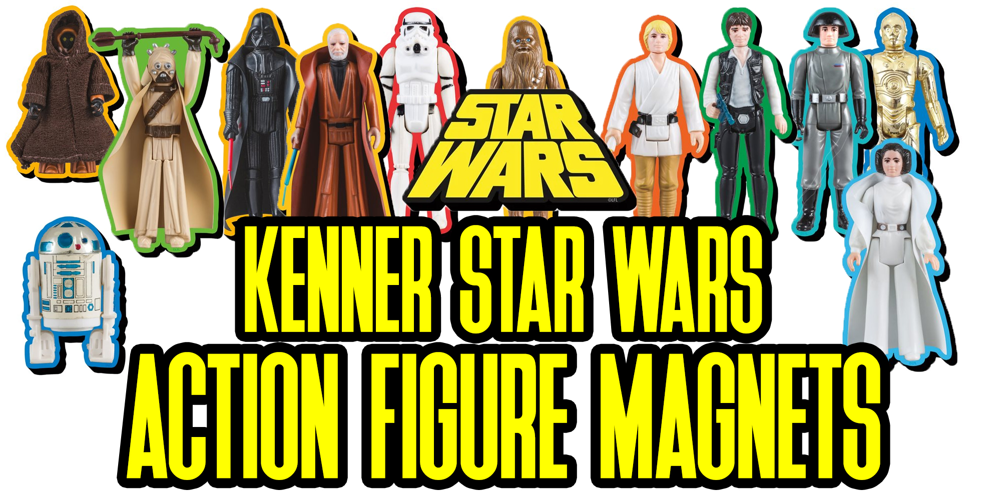 Kenner Star Wars Magnets