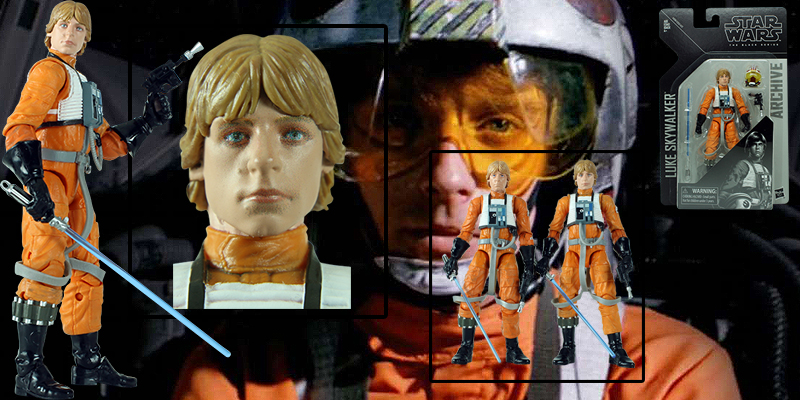 Luke Skywalker Black Series Archive