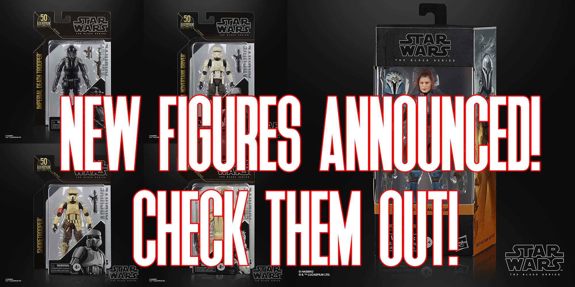 Black Series Figures For 2021