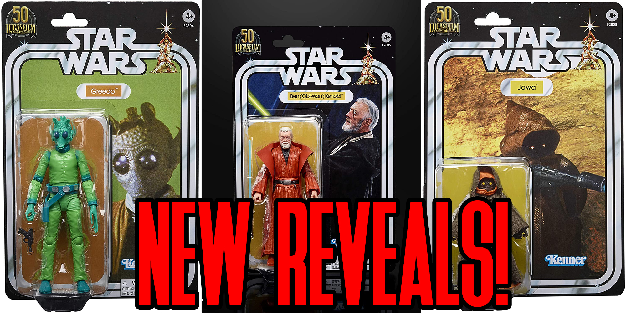 Black Series Kenner Figures