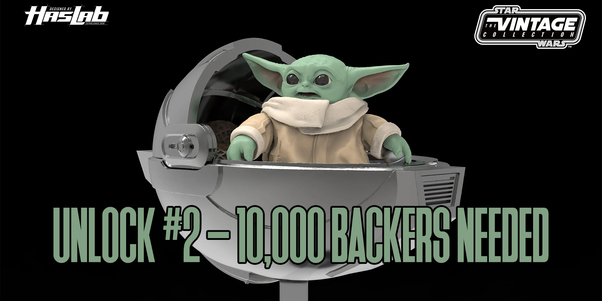 HasLab Razor Crest - UNLOCK #2 – 10,000 BACKERS NEEDED