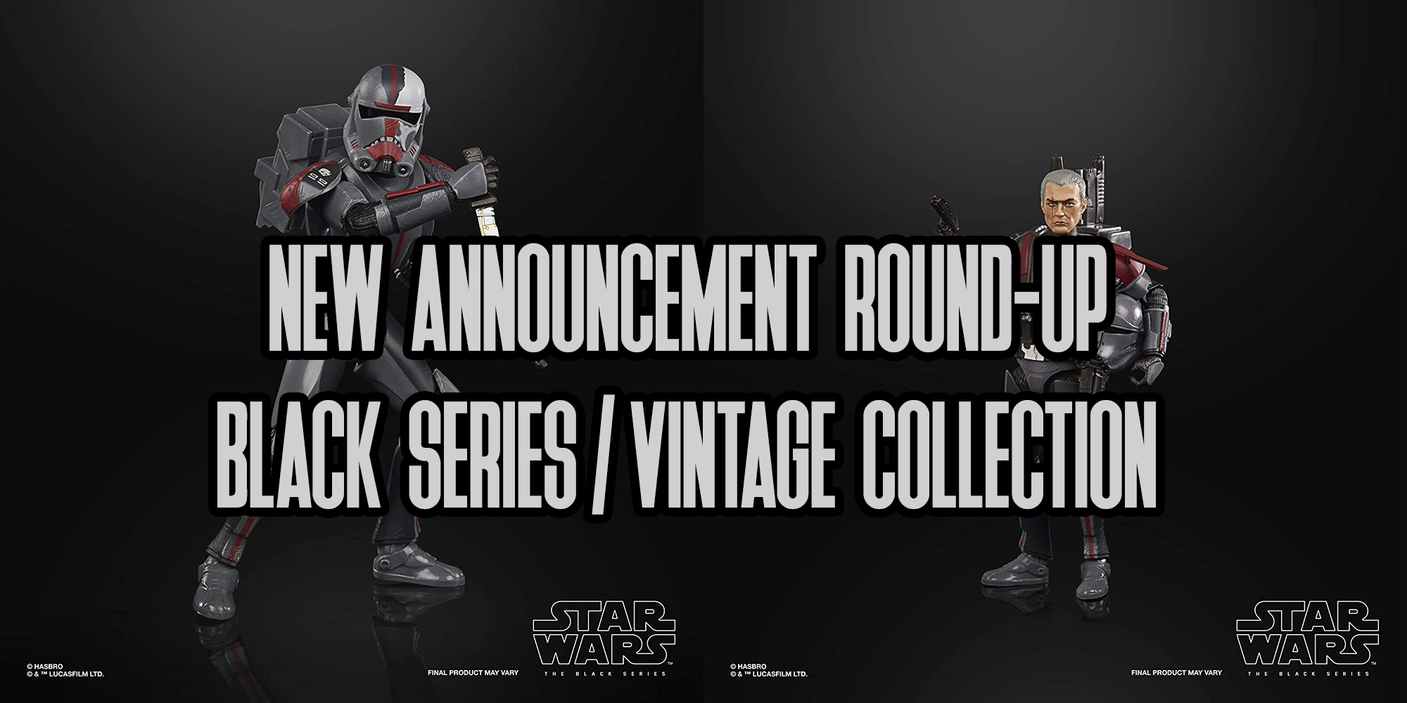 New Black Series Reveals