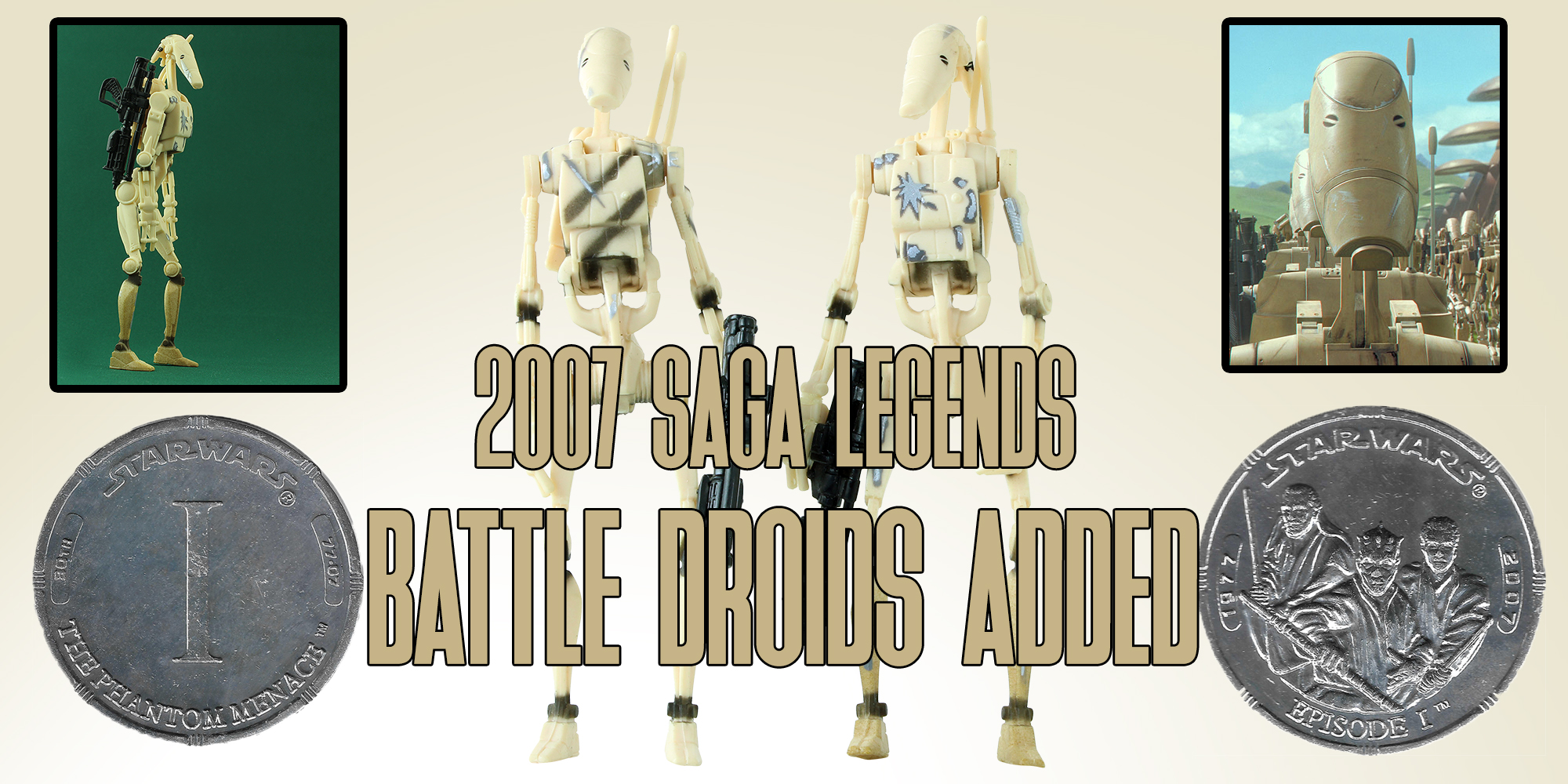 Star Wars Saga Legends Battle Droid