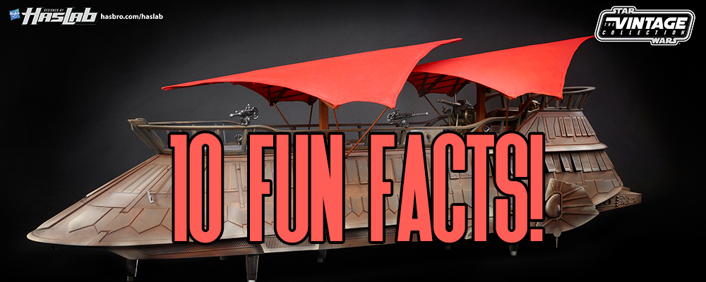 Jabba's Sail Barge Fun Facts!