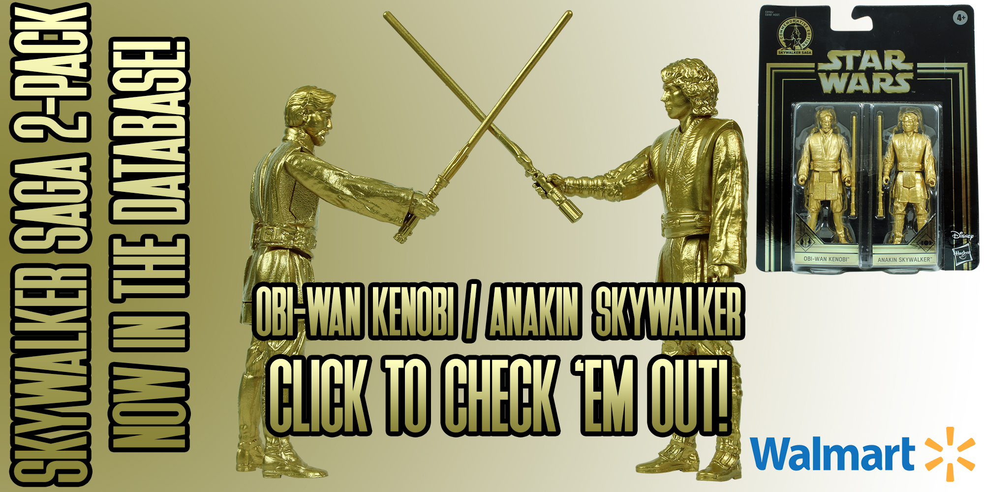 New Addition: Skywalker SAGA Collection Obi-Wan Kenobi And Anakin Skywalker