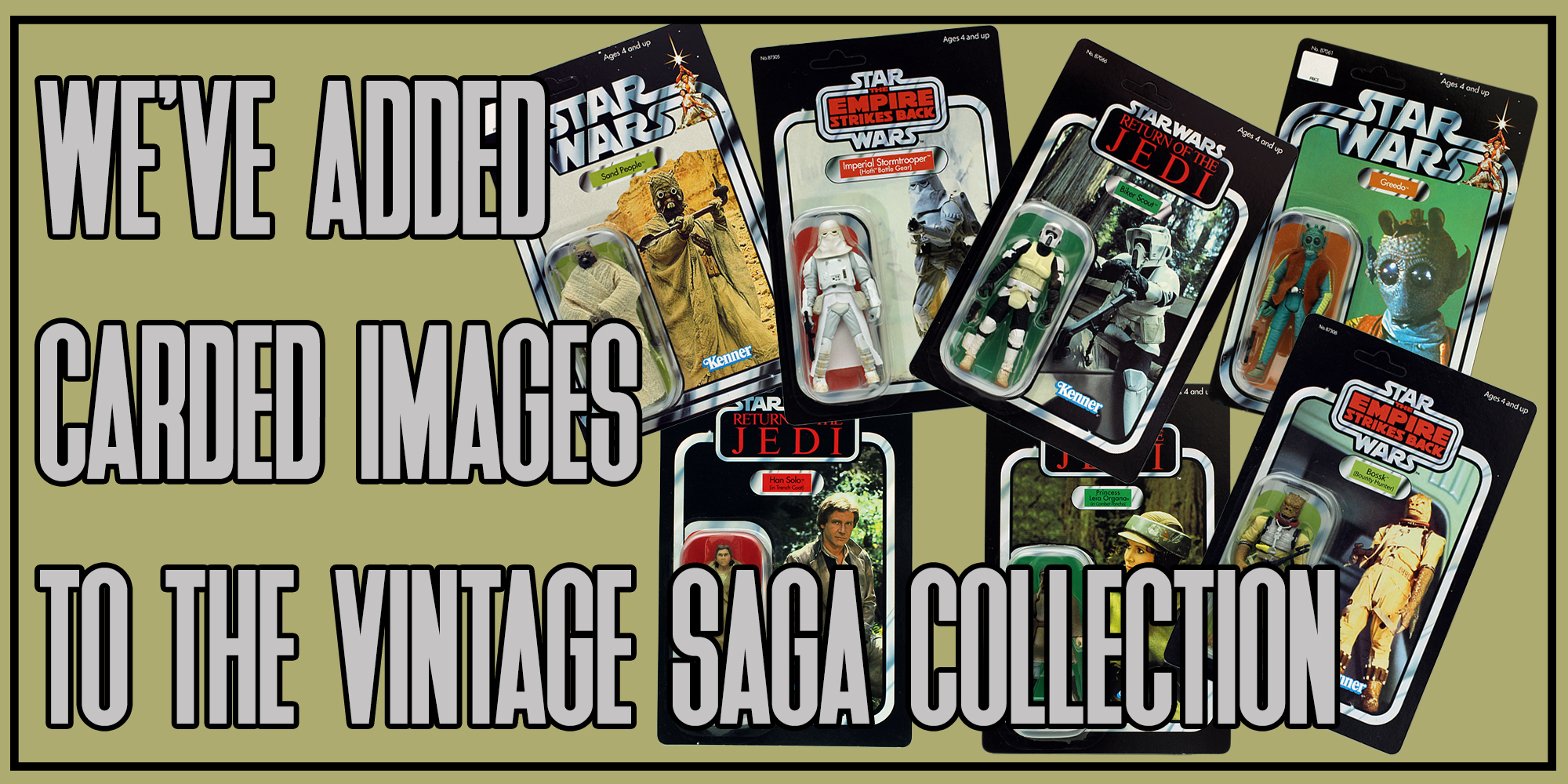 Carded Image Update For The Vintage SAGA Collection