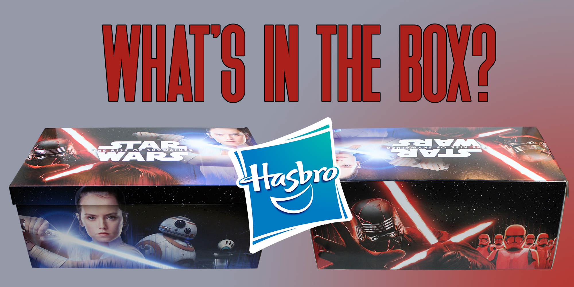 The Rise Of Skywalker Hasbro Box