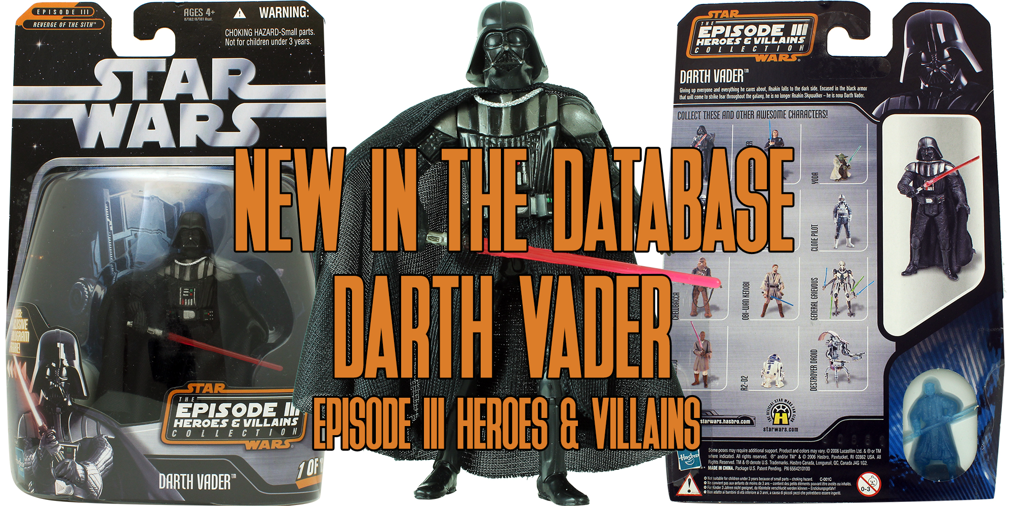 The Saga Collection Darth Vader