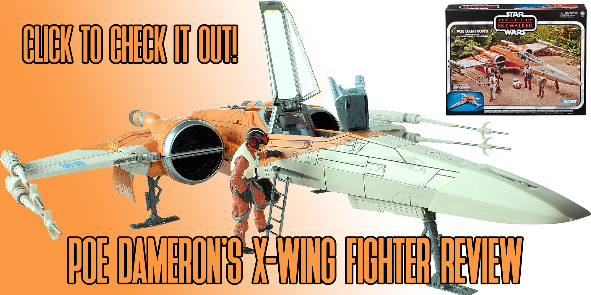 A Look At Poe Dameron S X Wing Fighter