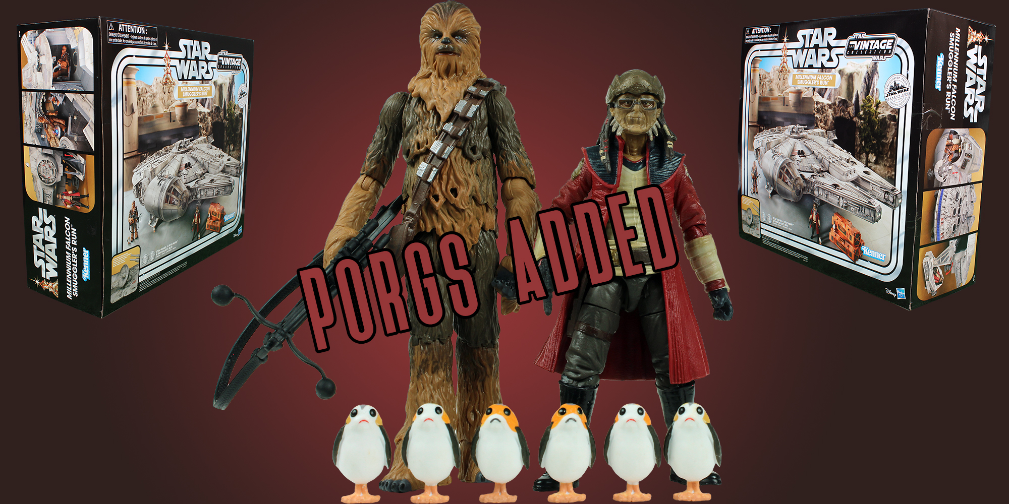 Vintage Collection Porgs