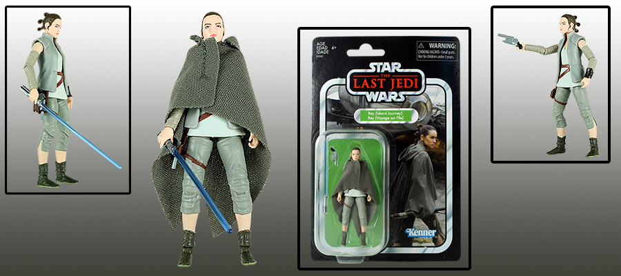 Rey The Vintage Collection Star Wars Island Journey
