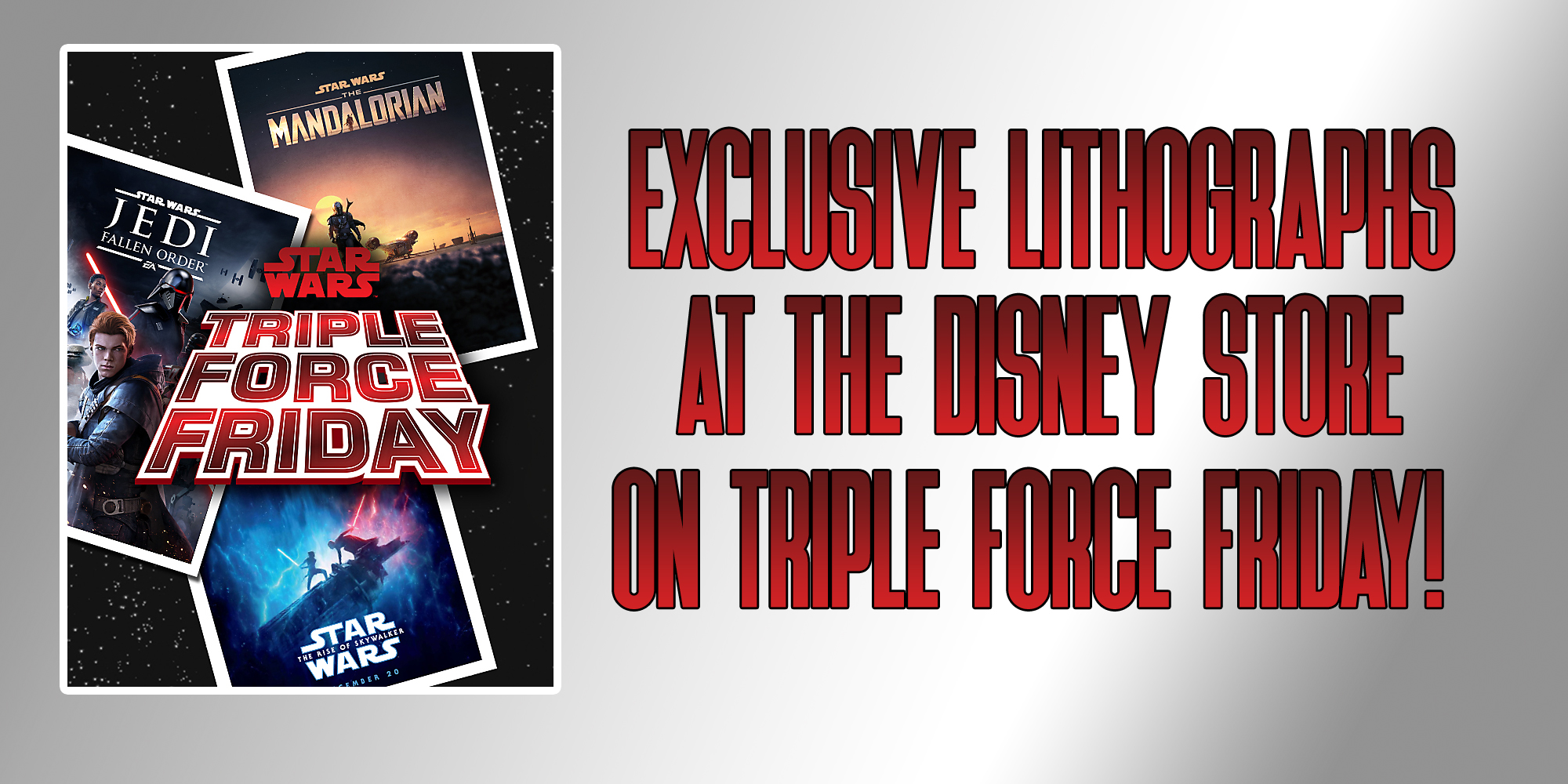Triple Force Friday Disney Store