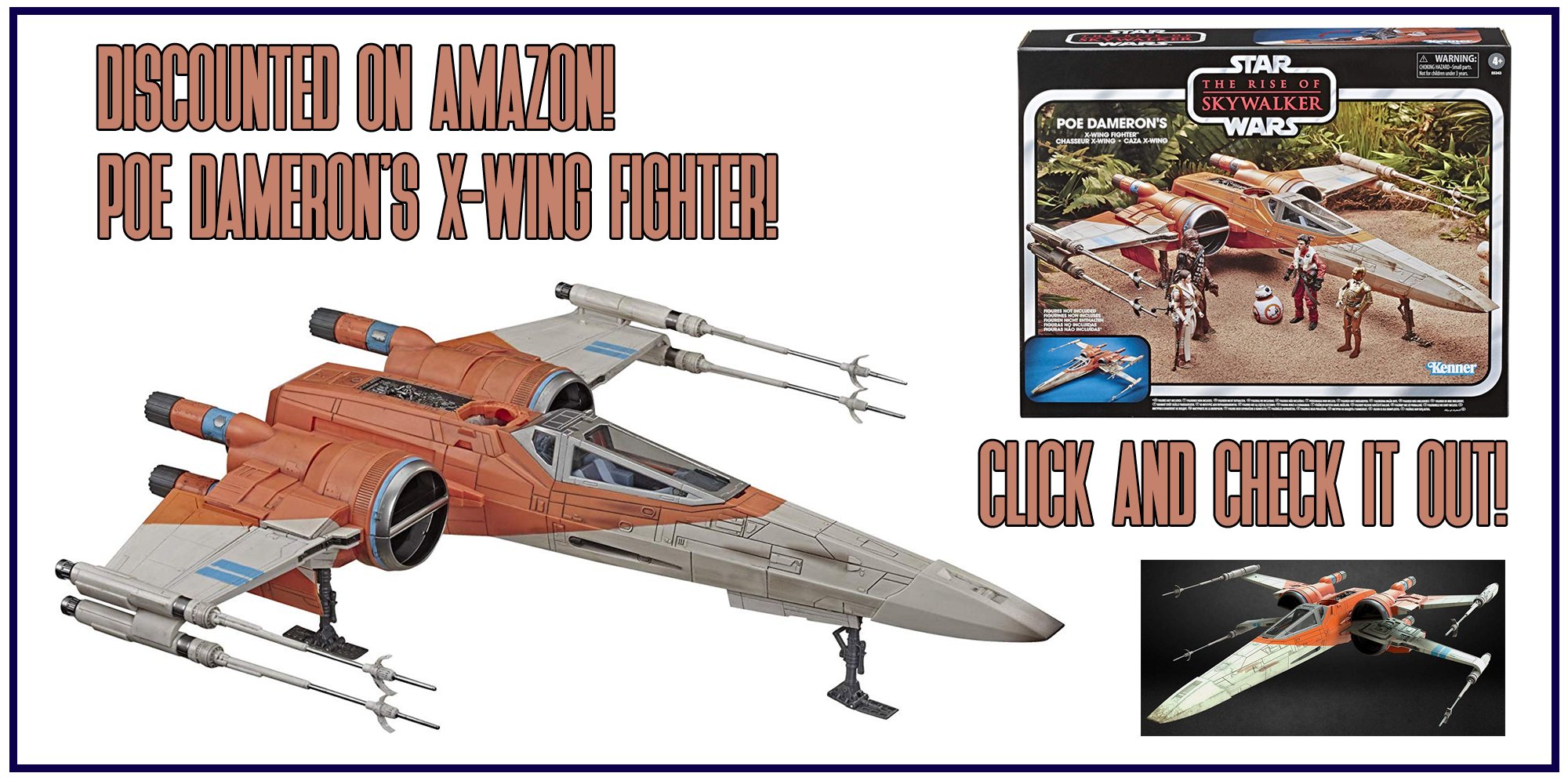 Poe Dameron S X Wing Fighter 10 Off At Amazon