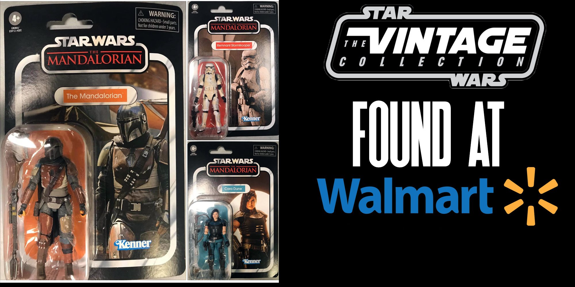 new vintage collection figures found at walmart