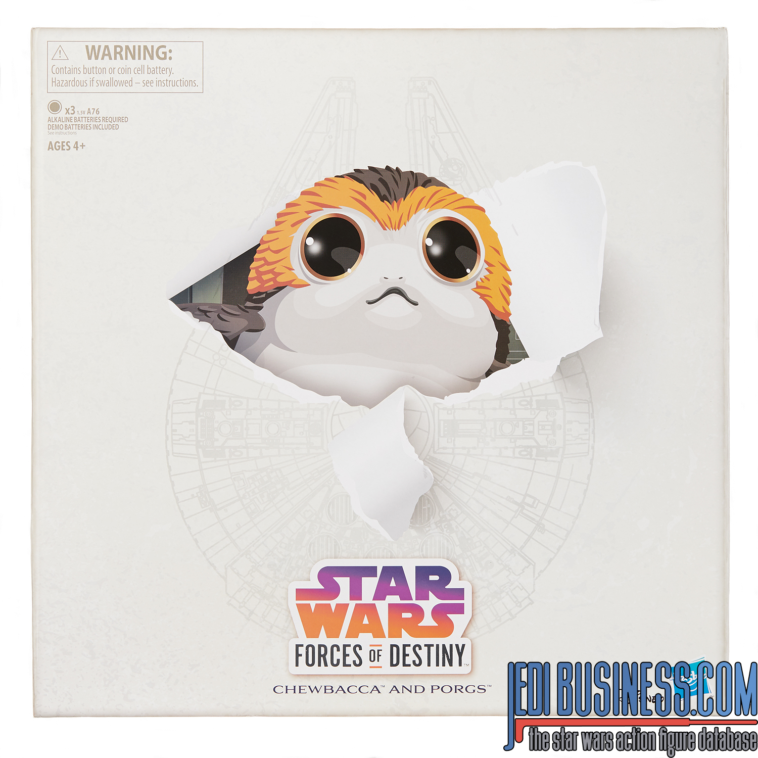 Forces Of Destiny Porgs