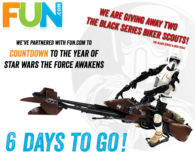 Star Wars The Black Series Biker Scout Giveaway