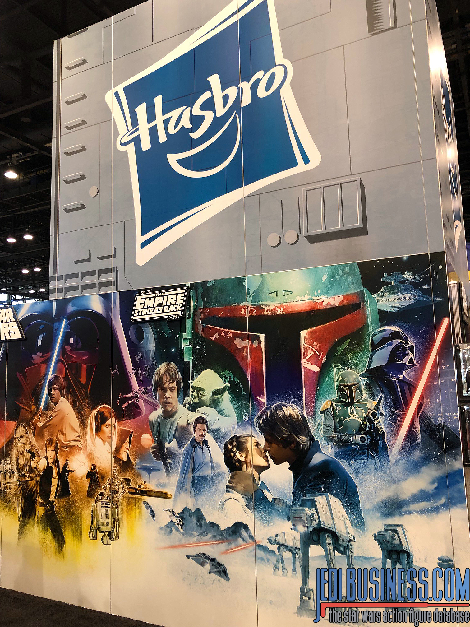 Hasbro booth at Star Wars Celebration Chicago 2019