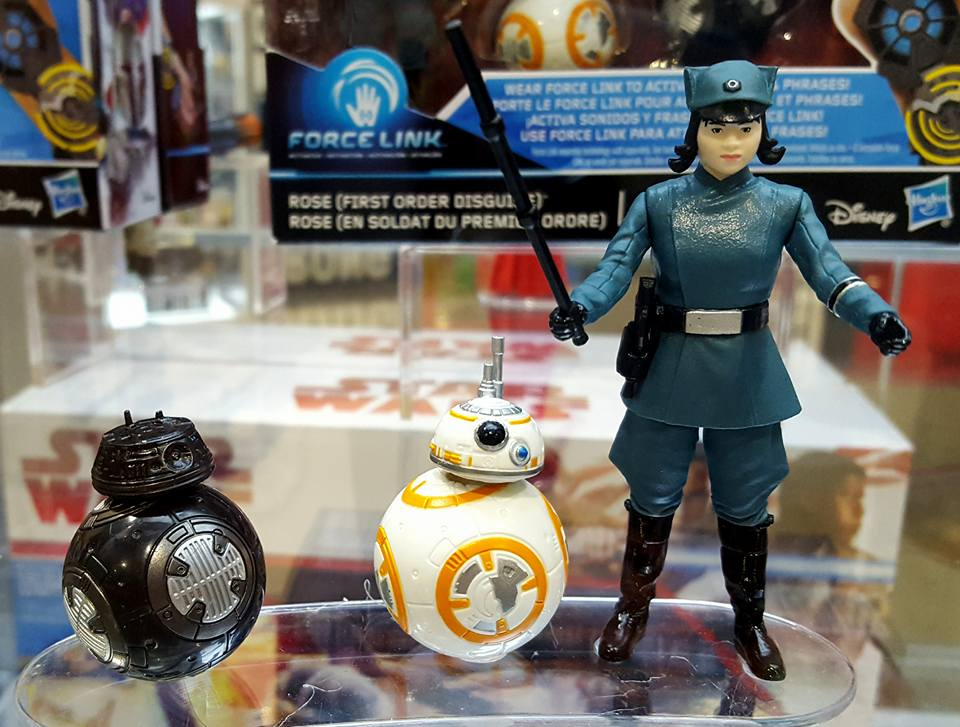 Star Wars figure at Hascon 2017