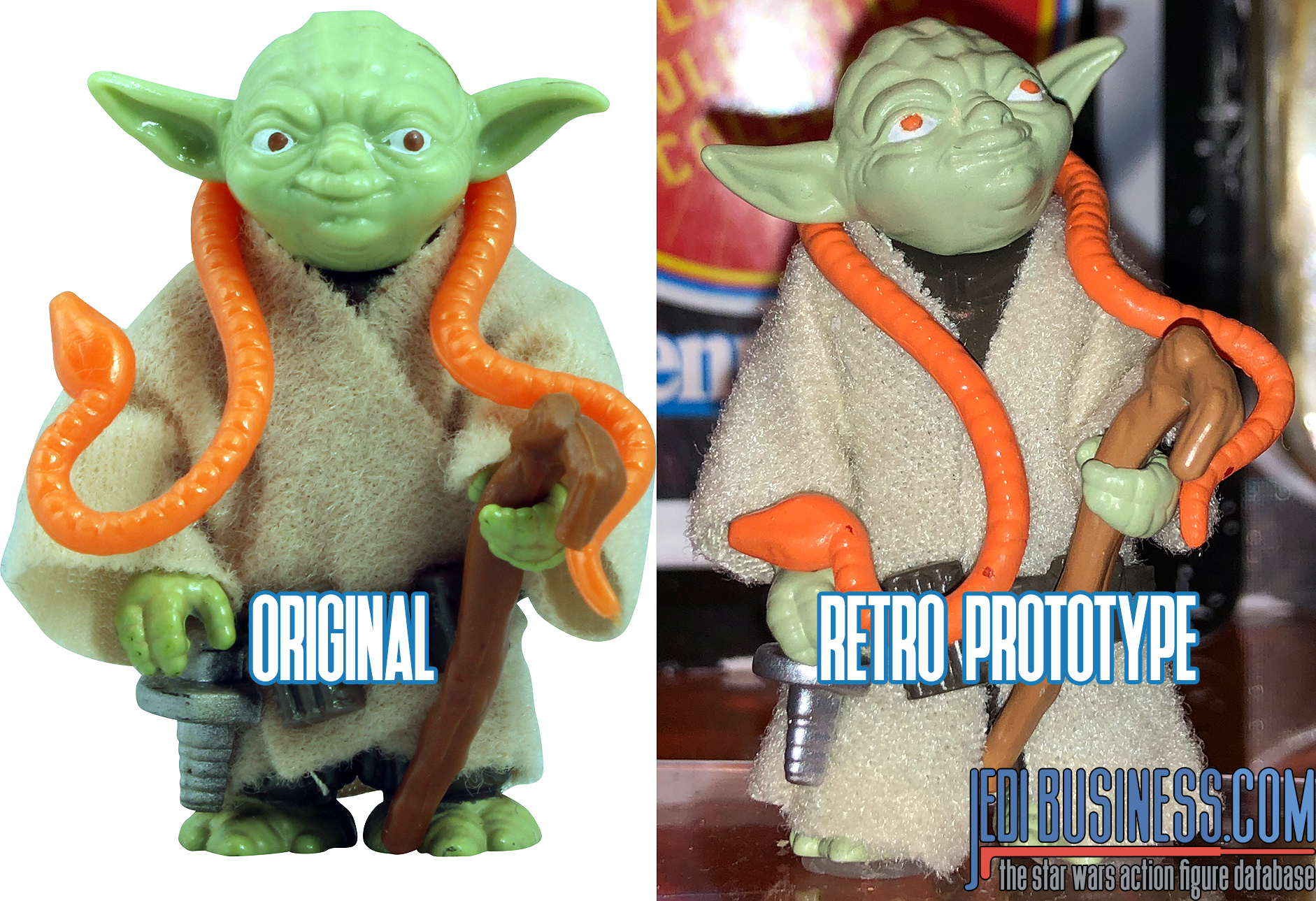 Star Wars Retro Collection At New York Toy Fair 2020 Yoda