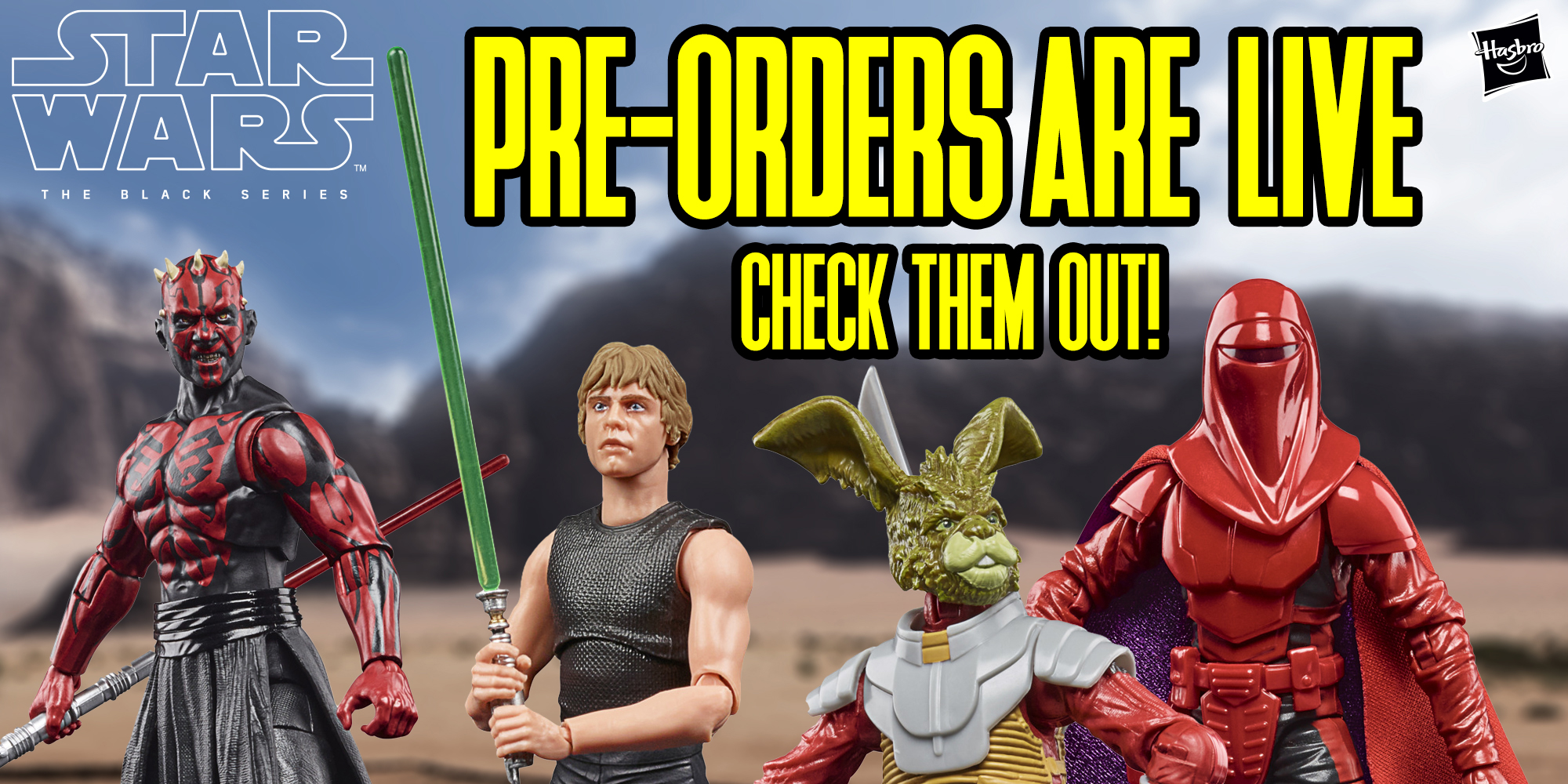Black Series PreOrders