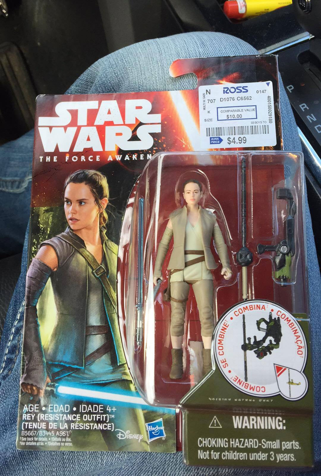 Star Wars Rey At Ross