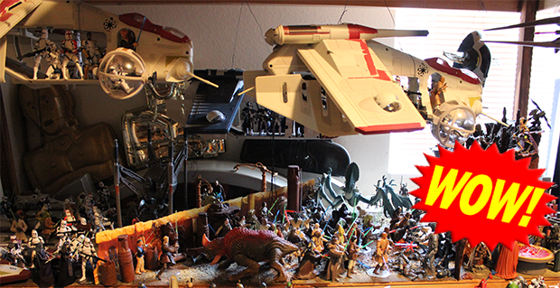 The Ultimate Star Wars Action Figure Collection
