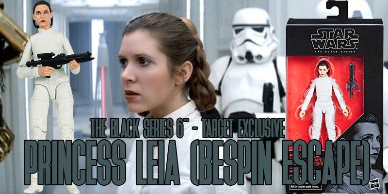Black Series Princess Leia Bespin Escape