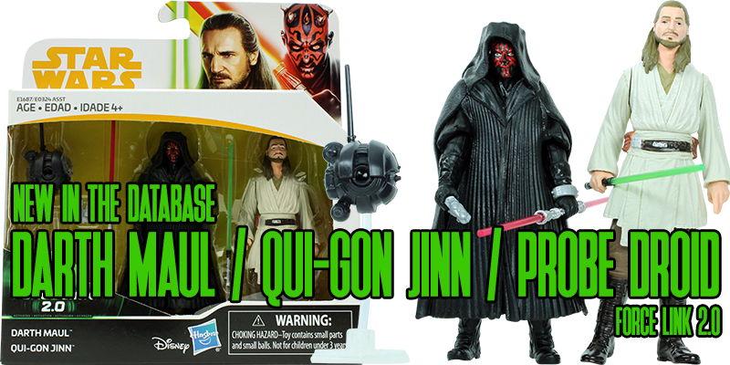 Darth Maul With Qui-Gon Jinn