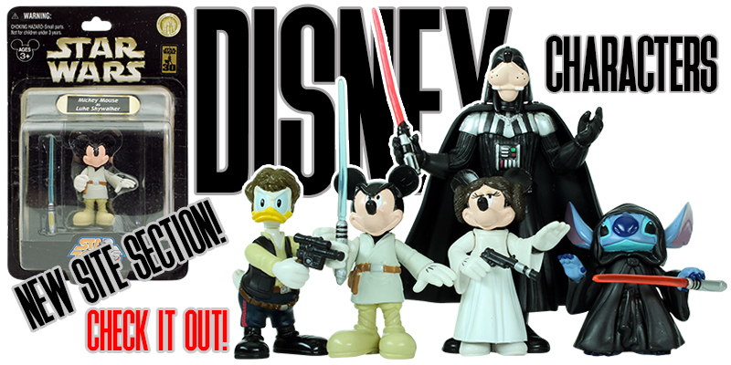 Disney Star Wars Character Figures