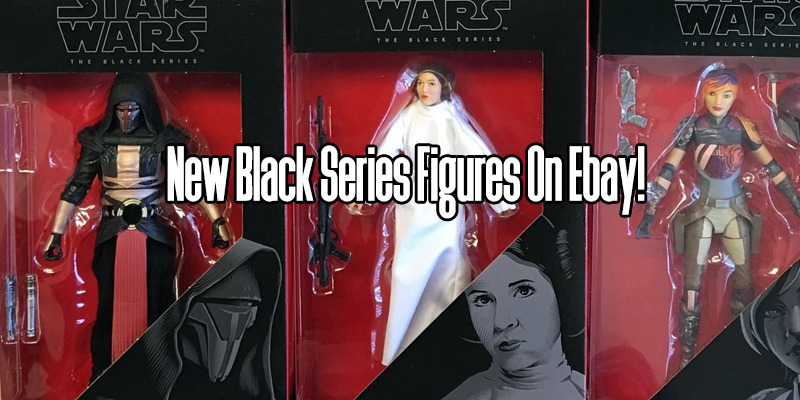 Star Wars Black Series On Ebay