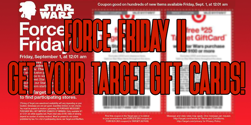 Force Friday Target