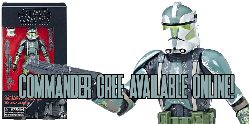 Commander Gree Black Series