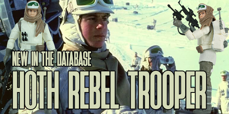 Hoth rebel trooper vintage collection