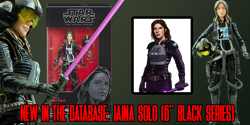 Jaina Solo Black Series