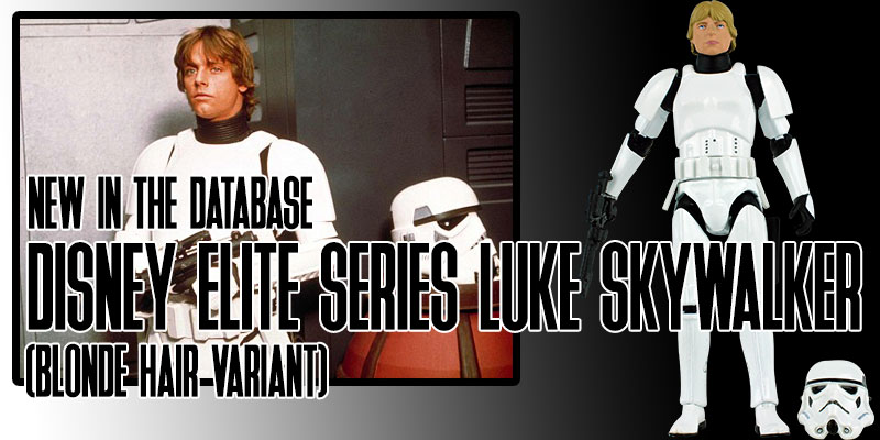 Luke Skywalker stormtrooper disney