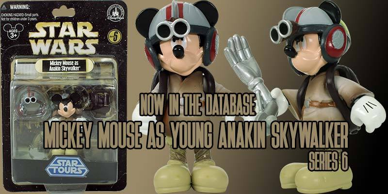 Mickey Mouse As Anakin Skywalker