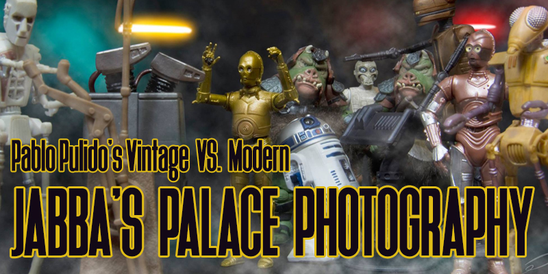 Star Wars Action Figure Photography: Pablo Pulido's Vintage VS. Modern!