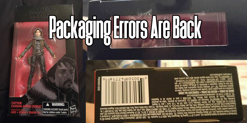 The Black Series Packaging Error