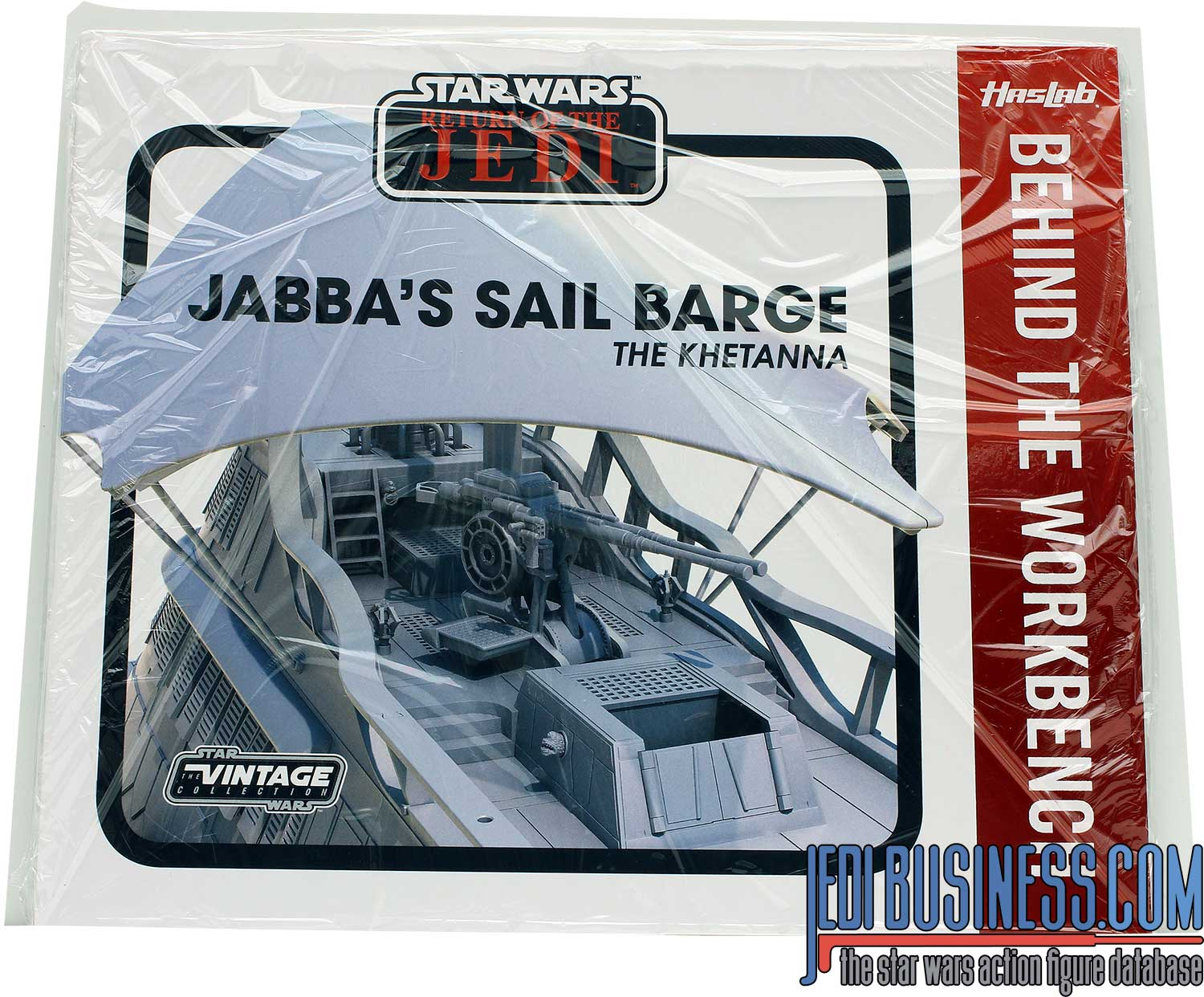 Sail Barge Behind The Workbench Booklet