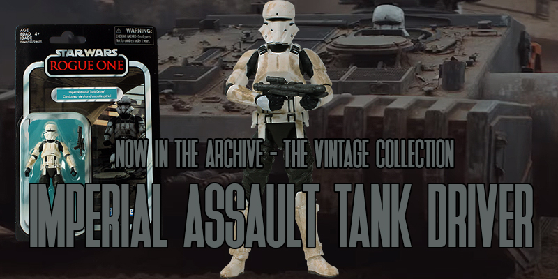 The Vintage Collection Imperial Assault Tank Driver
