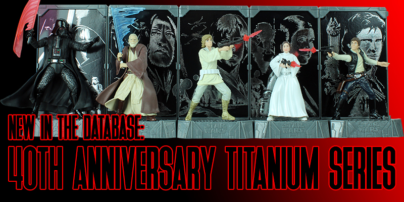 Star Wars Titanium Figures
