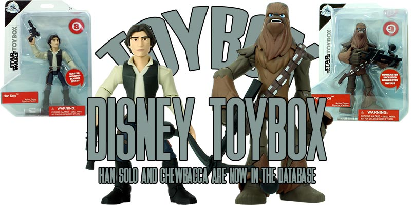 Toybox Han Solo and Chewbacca