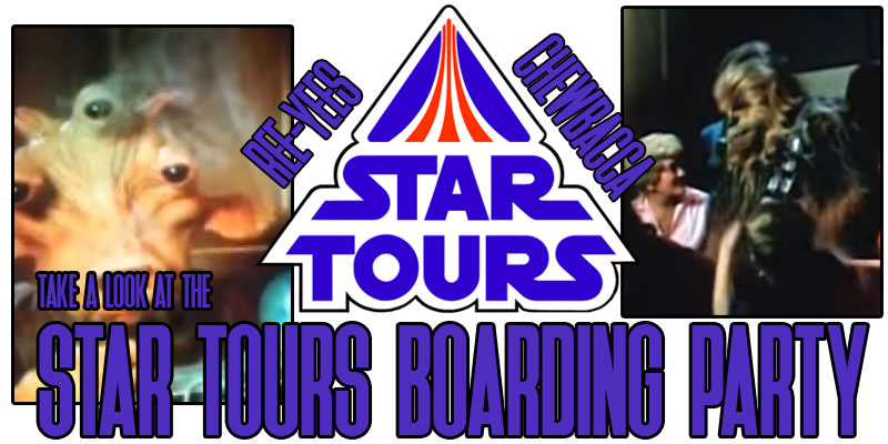 Star Tours Boarding Party