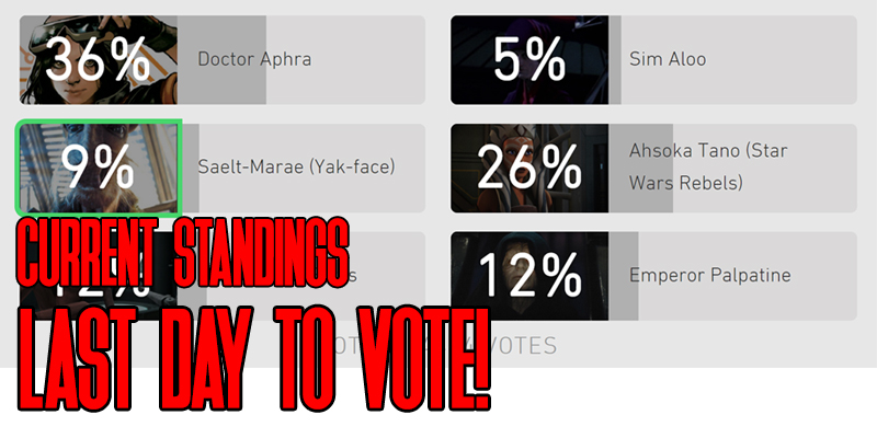 Star Wars Hasbro Fan Figure Vote