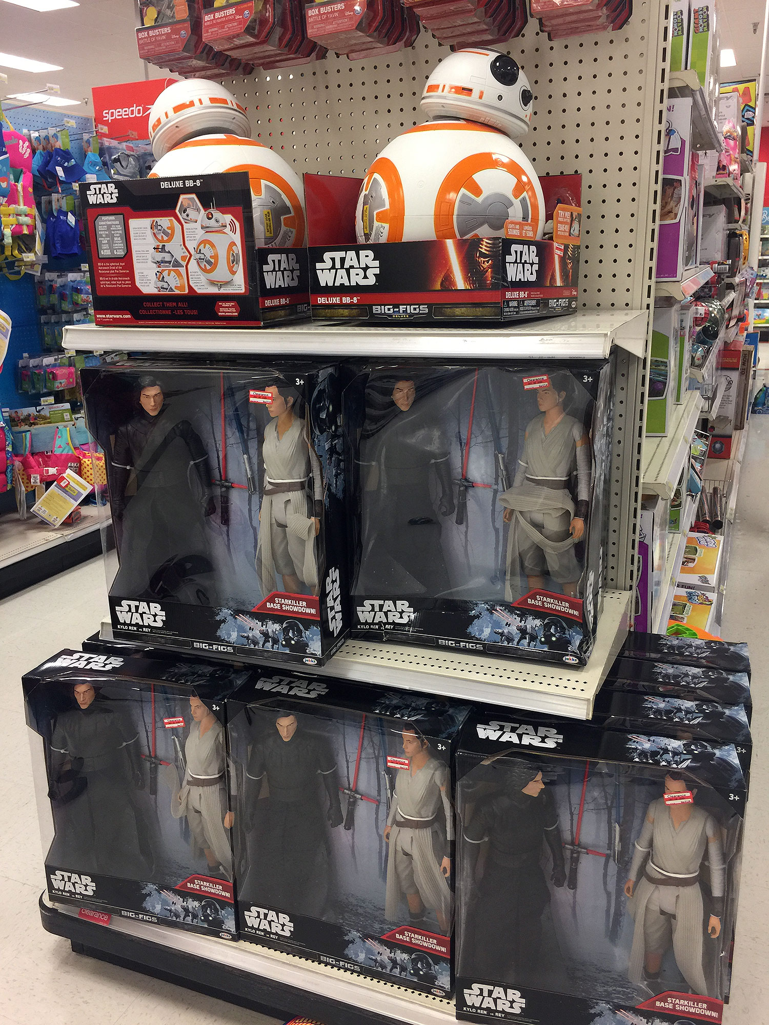 Star Wars at Target